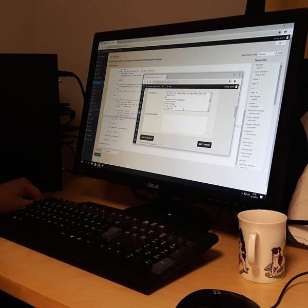 Nuorten Työpajan nettisivut työn alla